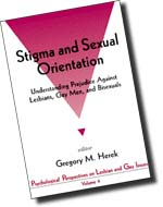More info about Stigma and Sexual Orientation